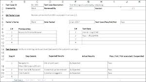 Software Test Case Template Template Test Case Template In Excel Format Word Software Awesome
