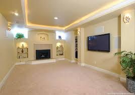 Basement Lighting Design New Decorating Ideas