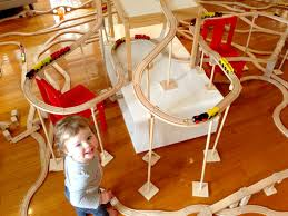 kids ikea train set fun