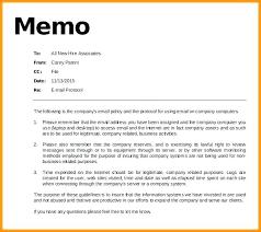 Email Memorandum Format Sample Internal Memo Format Vbhotels Co