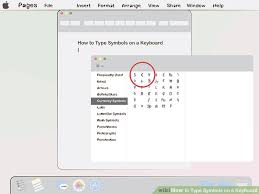 Symbols On Keyboard 4 Ways To Type Symbols On A Keyboard Wikihow