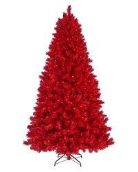 Lipstick Red Artificial Christmas Tree. rollover to zoom in