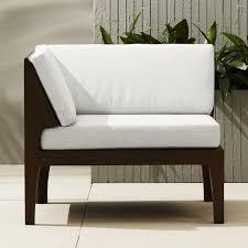contemporary cb2 patio furniture. Elba Corner Chair Contemporary Cb2 Patio Furniture S