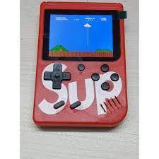 Máy chơi game cầm tay 4 nút SUP G01 400 game in 1 - hỗ trợ 2 người chơi  cùng lúc