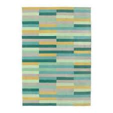 new rug low pile krÖnge handmade multicolour brand ikea