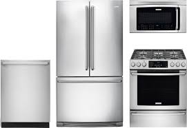 Gas Kitchen Appliance Packages Electrolux 4 Piece Kitchen Package With Ei30gf45qs Gas Range