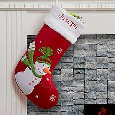 snowman christmas stockings. Unique Snowman Buy Santa Claus Lane Personalized Christmas Stockings You Can Customize  With Any Names Choose From 5 Adorable Holiday Themed Designs Like Santa Reindeer  Throughout Snowman Personalization Mall