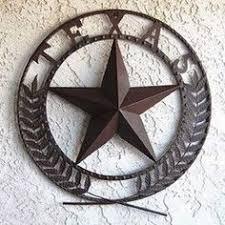 metal texas star wall art