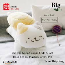 Miniso India - 📣📣Greeting from Miniso! Special sale is here with Amazon  Miniso India Online Store! Join our WhatsApp group using the link to get  the coupon code. LINK - https://chat.whatsapp.com/GNmP1FF6GPB1g6lWru3wW5 Use