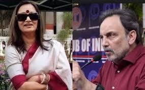 NDTV's Founders Prannoy Roy & Radhika Roy detained at Mumbai International  Airport today - Sentinelassam