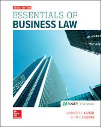 Business Law Essentials Of Business Law