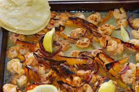 sheet pan shrimp fajitas one sheet pan shrimp fajitas ali in the valley