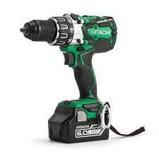 hitachi 6ah battery. hitachi dv18dbxl/jx 18 v cordless brushless combi drill with 2 x 6 a battery 6ah