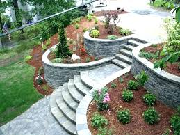 landscape block ideas inexpensive retaining wall ideas landscape timber retaining wall garden retaining walls pictures inexpensive