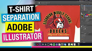 Illustrator For Screen Printers Design Tutorial How To Separate A 5 Spot Color Screen Print In Adobe Illustrator With Printing Results