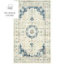 area rug evoke ivory blue 2 ft x 4 jute polypropylene synthetic safavieh vintage boho chic