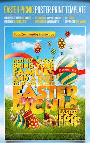 Top 15 Best Easter Psd Flyer Templates For Easter 2013
