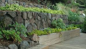 retaining walls modern landscape with garden wall designs