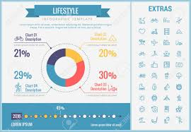 Lifestyle Infographic Template Elements And Icons Infograph