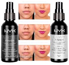 nyx setting spray matte or dewy finish long lasting makeup tahan lama review