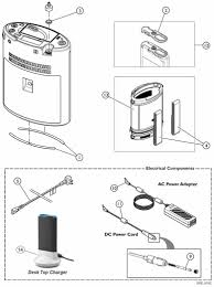 invacare platinum mobile concentrator replacement parts poc1 100 parts diagram see the invacare platinum mobile concentrator