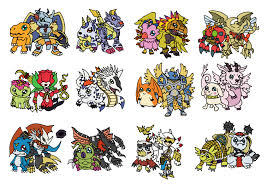 Digimon Digivolution Chart Season 1 Warp Digivolution By Candleshrine96 On Deviantart