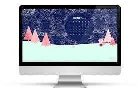 january 2015 desktop wallpaper. Simple 2015 Itu0027s A Winter Wonderland Right On Your Desktop Download This Free January  2015 Calendar Wallpaper Intended Desktop Wallpaper U