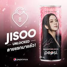 201118] JISOO with PEPSI Thailand   Pepsi, Blackpink jisoo, Blackpink