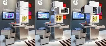 Computer Kitchen Design Adorable Ecooking High Class Modular Kitchen ICreatived