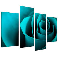 amazon uk kitchen wall art. large teal turquoise floral canvas wall art pictures xl prints 4109: amazon .co.uk: kitchen \u0026 home uk t
