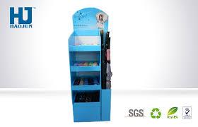 Hs Code For Display Stand Waterproof Recycled Floor Display Stands Cardboard CMYK Pantone 66