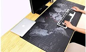 Trend Matters Old World Map Full Desk Coverage ... - Amazon.com