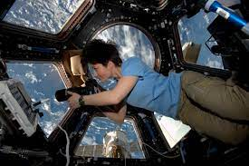 File:ISS-42 Samantha Cristoforetti in the Cupola.jpg - Wikimedia Commons