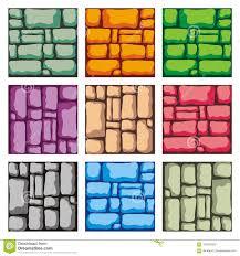 Design Tiles Game Tile Set Platform For Creating Game Stock Vector