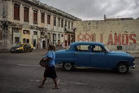 uit Cuba toch altijd dezelfde plaatjes ...