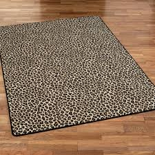 leopard animal print rugs