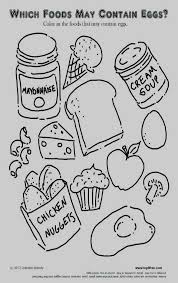 Dairy Products Coloring Pages Kantame