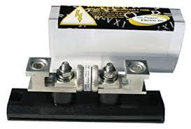amazon com go power fbl 400 class t 400 amp fuse block fbl 400 class t 400 amp fuse block