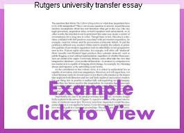 rutgers university essay rutgers university transfer essay custom paper service