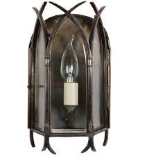 gothic small old antique gothic wall lantern