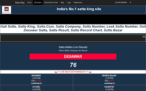 Satta Record Chart Sattaking World Medium