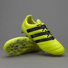 denmark 2018 adidas ace 16 1 fg ag leather solar yellow core black silver metallic offer s