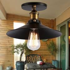 ceiling lights for entrance hall and industrial energy efficient flush mount black metal with 800x800px