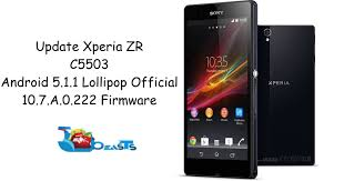 Update Sony Xperia ZR C5503 Official ...