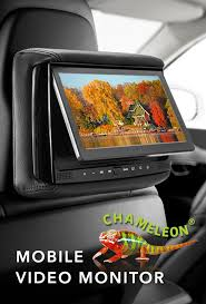 concept homepage bsd 905m chameleon 9 lcd headrest w wireless screencasting and build in dvd player