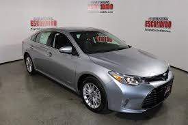 New 2018 Toyota Avalon Hybrid Limited 4dr Car in Escondido ...
