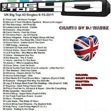 Current Uk Charts Top 40 Details About Promo Disc Dvd Uks Big Top Chart 36 Of The Current Top 40 Video Hits 9 15 2011