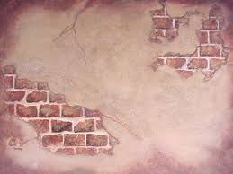 awesome faux painted brick wall image of painting walls white awesome faux