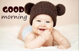 good morning cute baby photo good