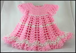 Crochet Baby Dress Pattern Unique Design